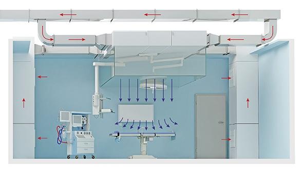 Ламинарный потолок - Tion